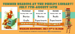 Summer Reading- Preschool Story Hour @ Phelps Community Memorial Library | Phelps | New York | United States