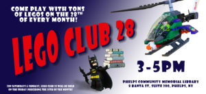Lego Club 28 @ Phelps Community Memorial Library | Phelps | New York | United States