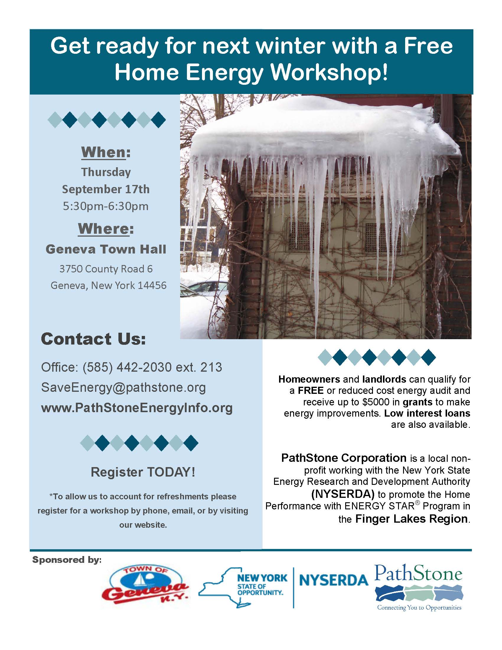 Pathstone Home Energy Outreach to Hold Free Workshop: Is Your Home ...