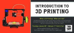 Introducing 3D Printing @ Phelps Community Public Library | Phelps | New York | United States