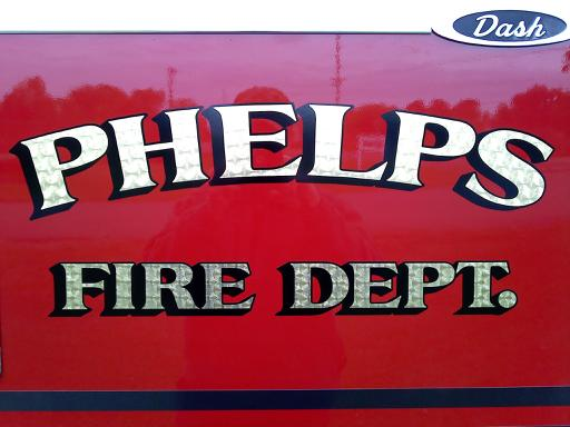 Phelps Fire Department donates retired truck to department in need