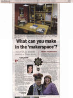 STEAM Lab article, Finger Lakes Times, 8AUG16
