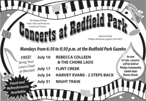 Rebecca Colleen & the Chore Lads @ Redfield Park | Phelps | New York | United States