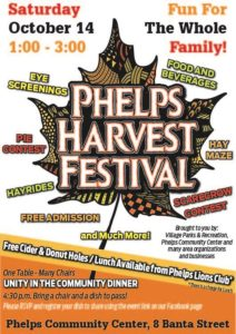 Phelps Harvest Festival @ Phelps Community Center | Phelps | New York | United States